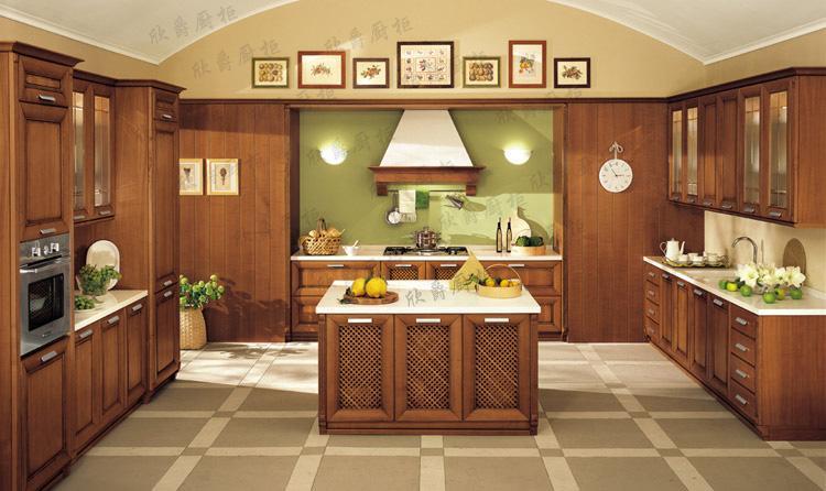 欣爵橱柜——实木材质
